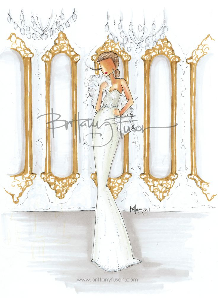 Hall of Mirrors | Versailles | Brittany Fuson | fashion illustration| Be Inspirational ❥|Mz. Manerz: Being well dressed is a beautiful form of confidence, happiness & politeness