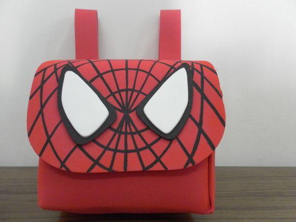 Mochila Homem aranha | Nanda Paineis e Lembracinhas | 35D377 - Elo7