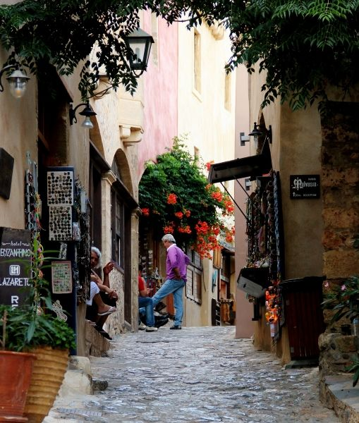 Street in the Old Castle of Monemvasia