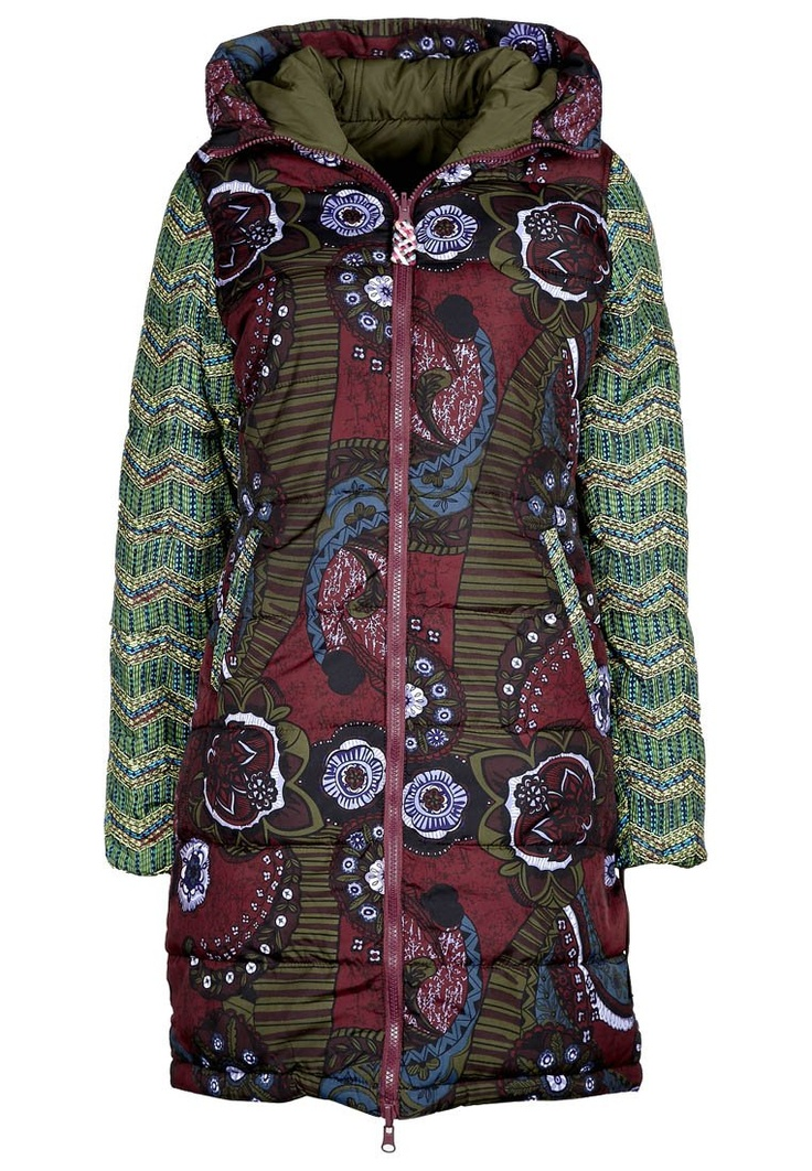 Love this Desigual jacket. But I doubt it will be warm enough.