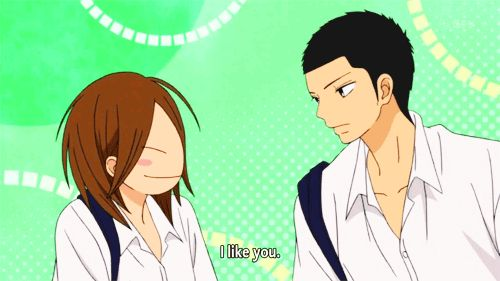 Ryu and Chizu | Kimi ni Todoke I knew they like each other, their little moment together was one of my favorite moments in that episode. Best friend love, you jut got to love it
