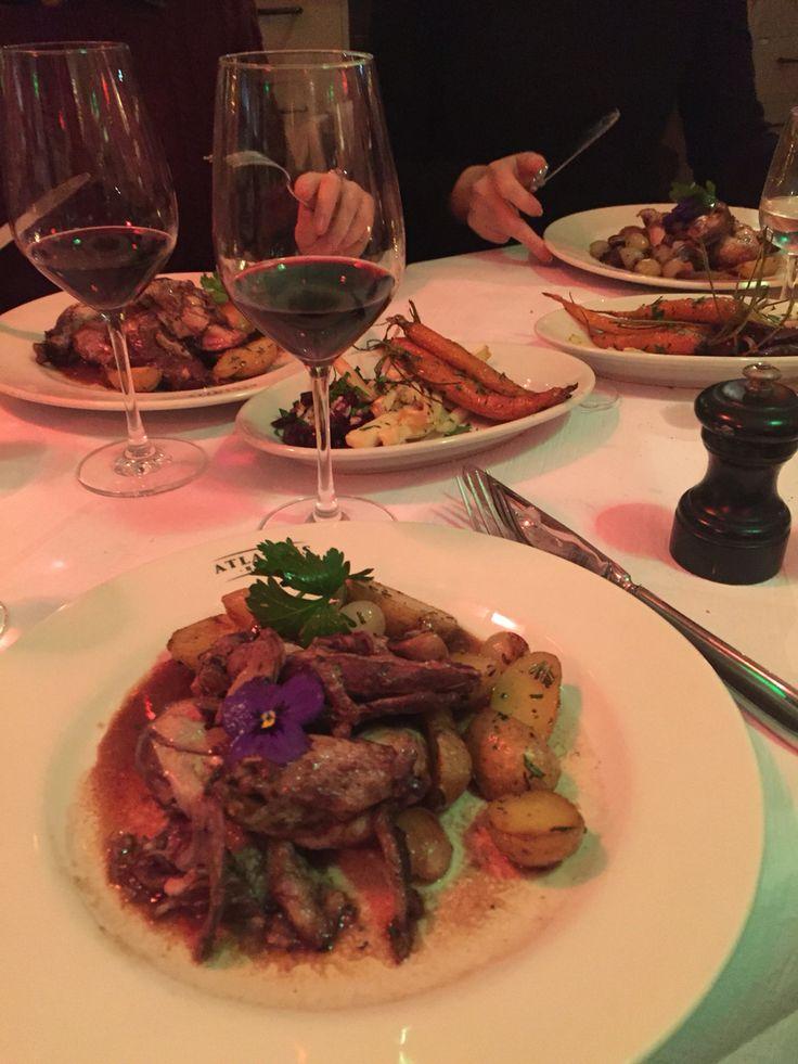 Coq au Vin . Dinner with the Girls . Pop Up Restaurant . Zürich Switzerland .