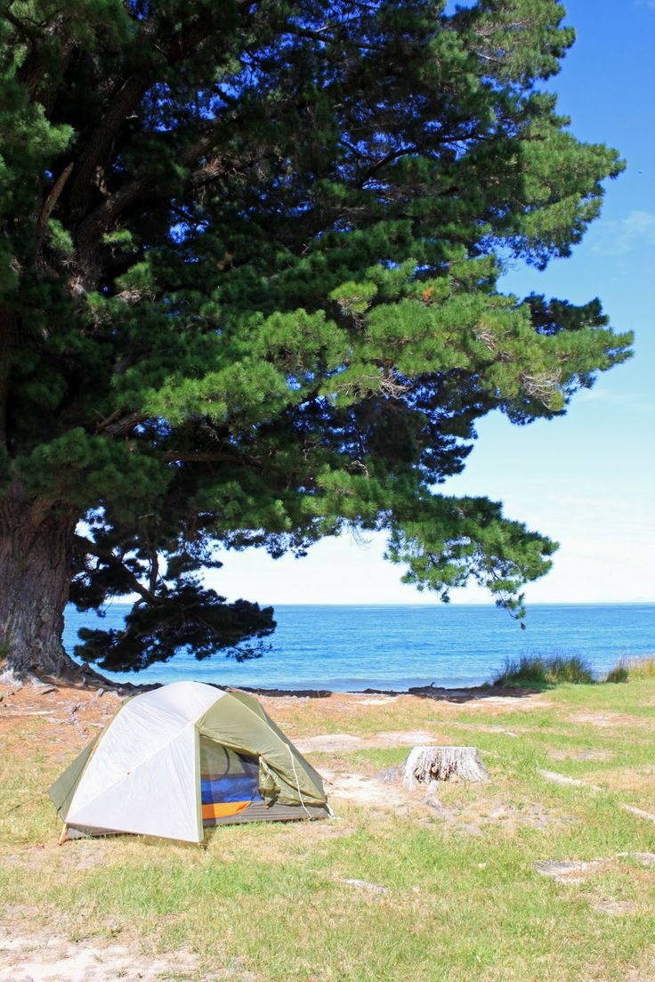Camping in NZ