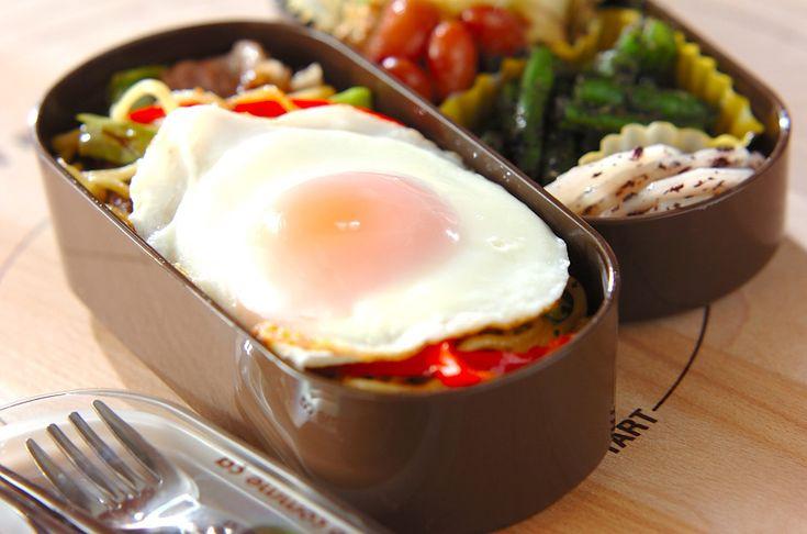 焼きそばのお弁当のレシピ・作り方 - 簡単プロの料理レシピ | E・レシピ
