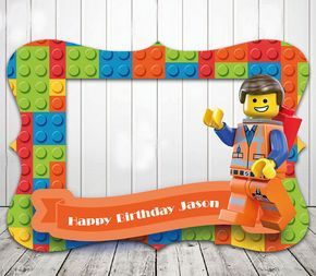 LEGO marco de cabina de fotos para fiesta de por LILACandDESINGS