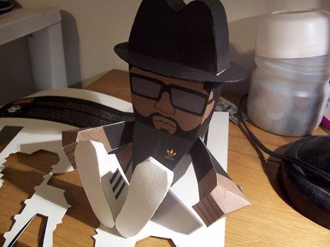 Rum DMC Paper Toys - by Photoshop Vip