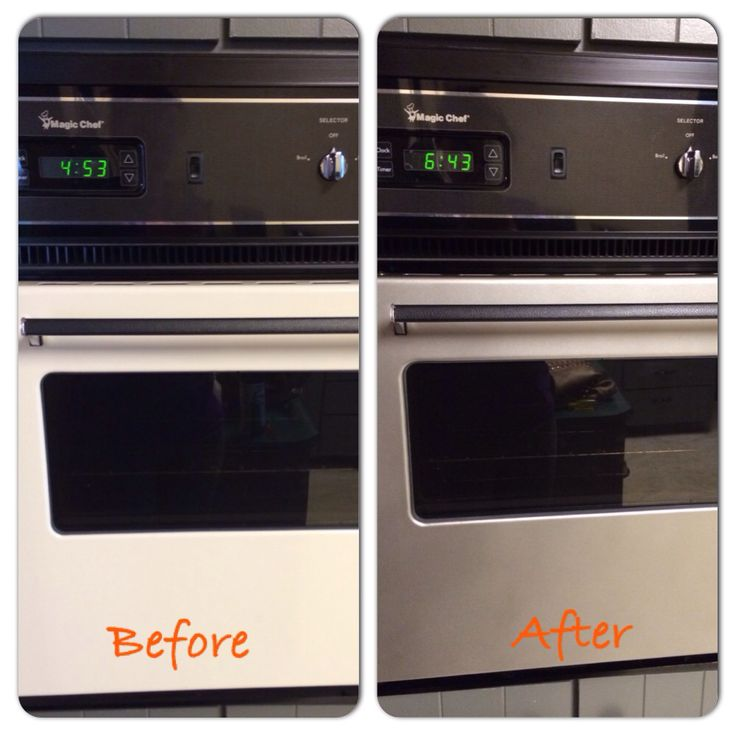 Transform appliances with stainless steel appliance spray paint!