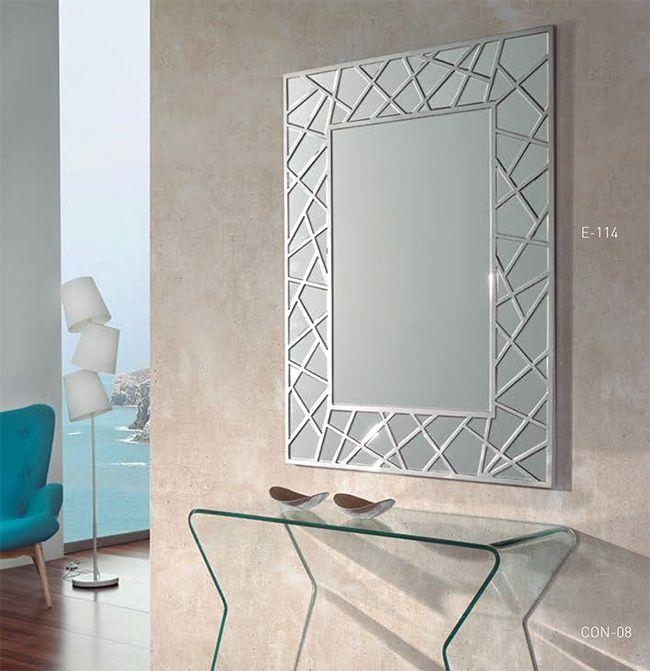 Las 25 mejores ideas sobre espejos de pared decorativos for Marcos para espejos grandes modernos