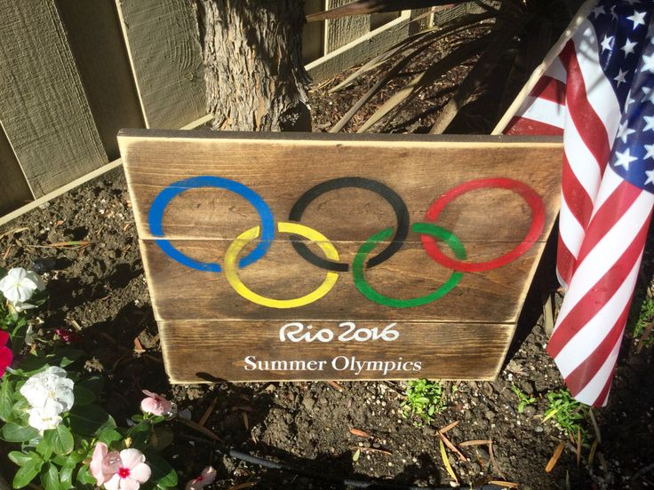 A personal favorite from my Etsy shop https://www.etsy.com/listing/451300790/olympic-sign