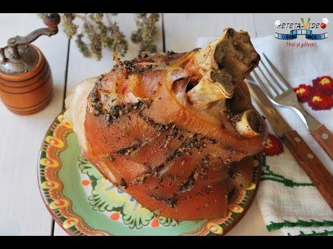 Pulpă de porc cu cremă de oţet balsamic - YouTube