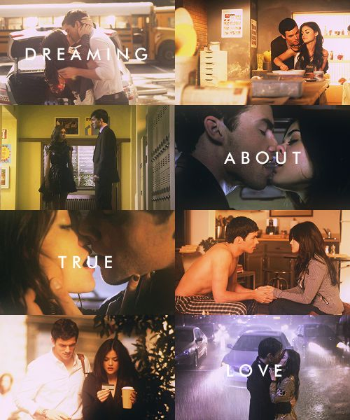It's not a dream anymore, I have this in real life!!! Me and Joe are identical to Ezra and Aria!!!