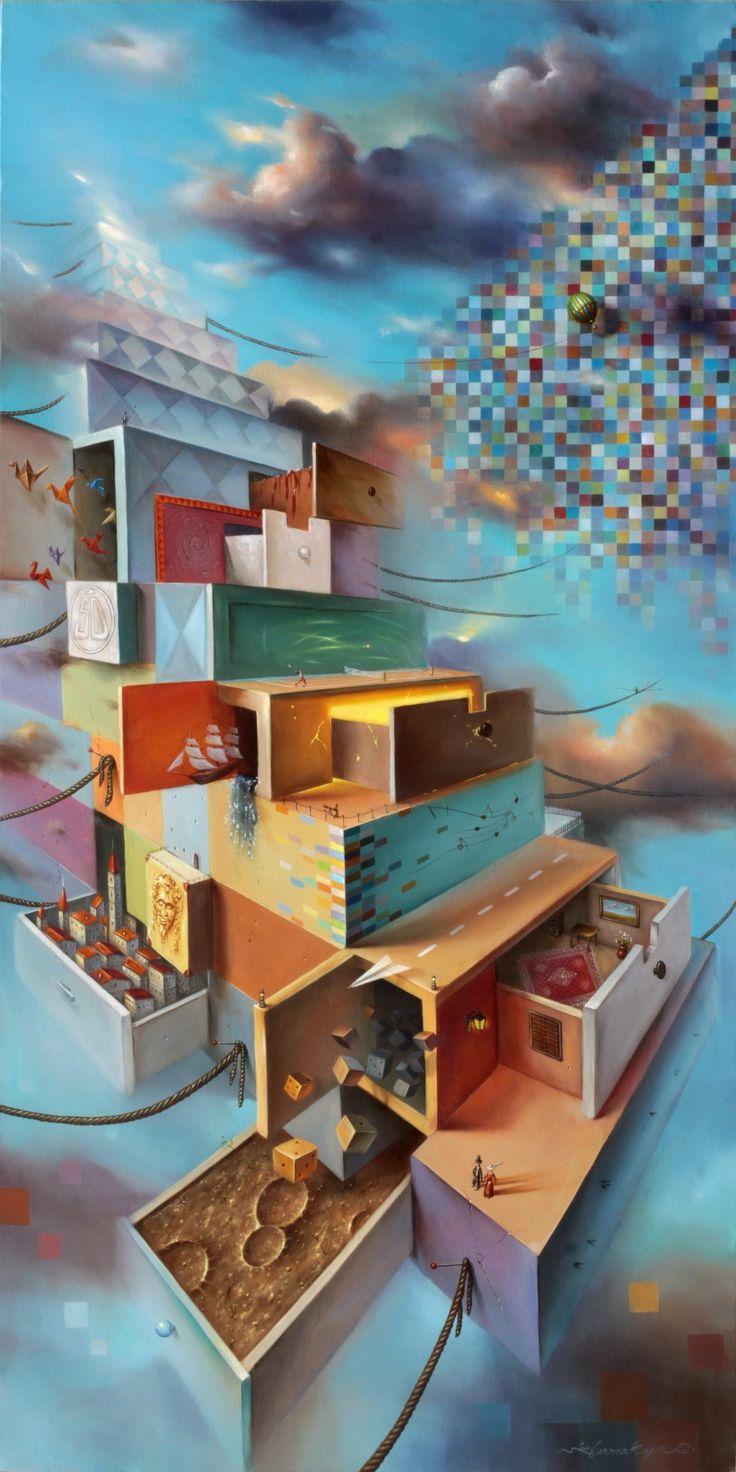 Rok 2014 | Realizm magiczny, surrealizm, nadrealizm, malarstwo współczesne.