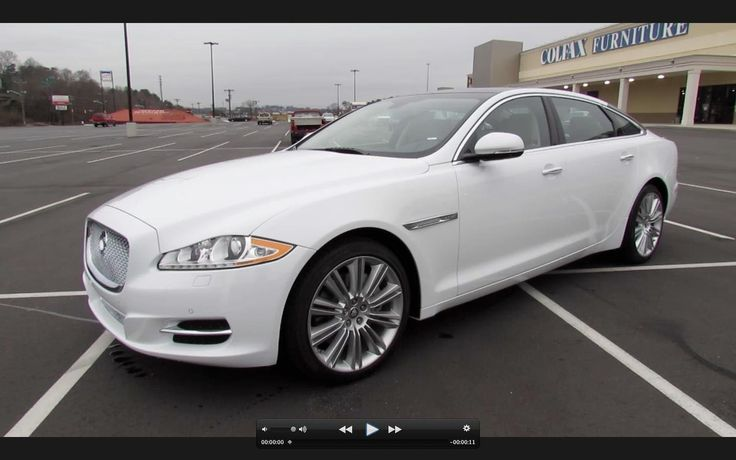 2013 Jaguar XJL Portfolio 3.0L Supercharged AWD Start Up, Exhaust, and In Depth Full Review