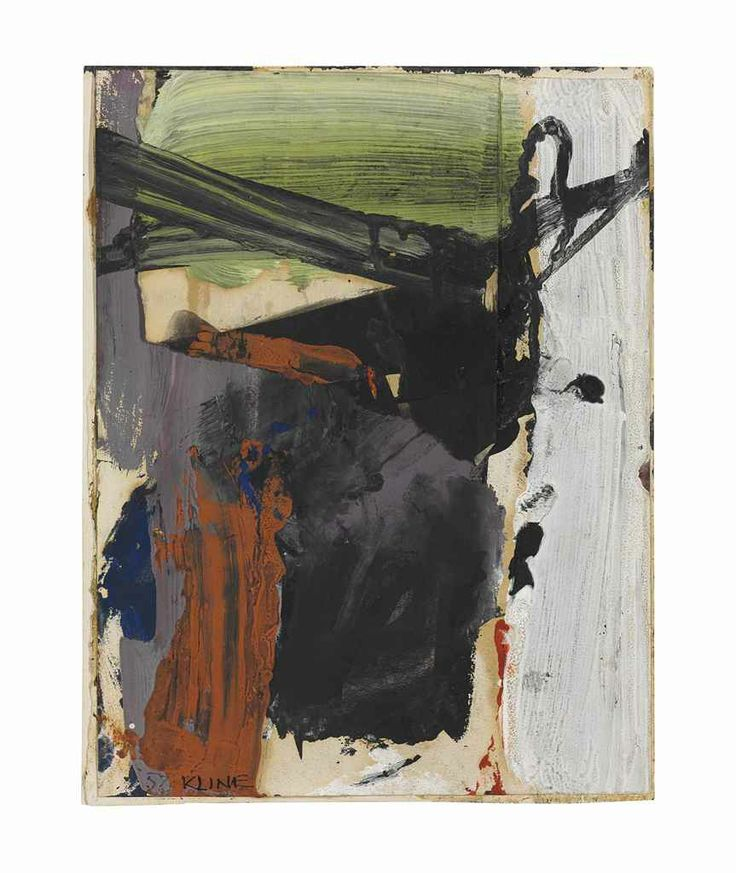 Franz Kline (1910-1962) Lavender Rust