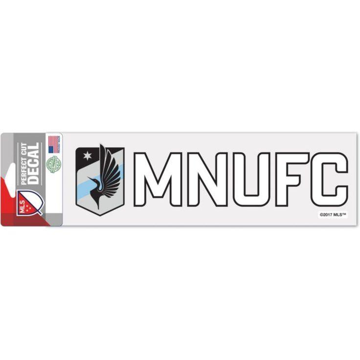"WinCraft Minnesota United FC 3"" x 10"" Decal, Multi"