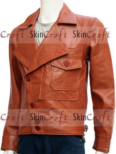 Leonardo Dicaprio The Aviator Movie Leather Jacket