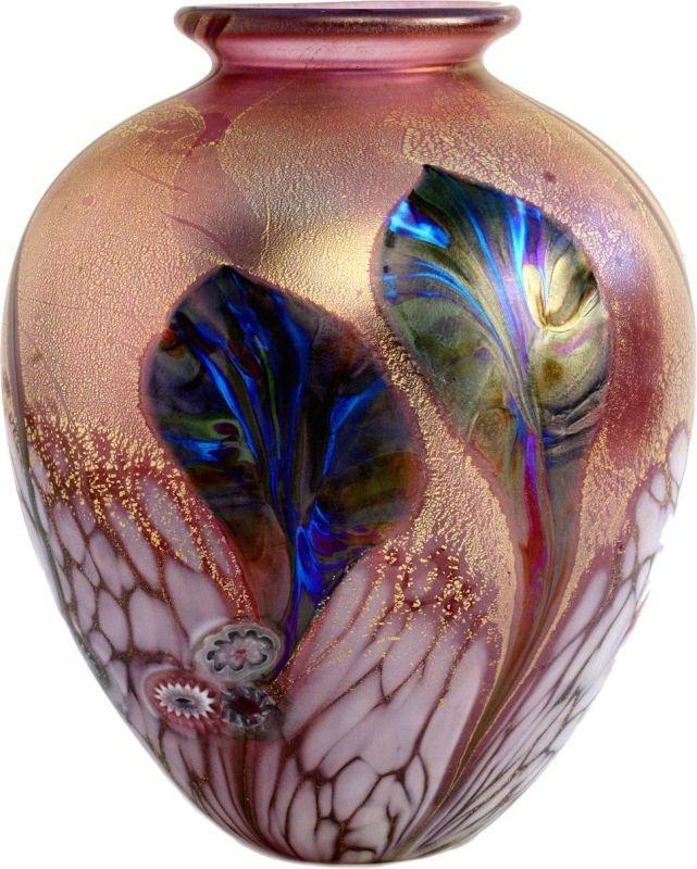jonathan harris eden amphora vase gold ruby