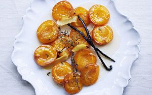 Vanilla and thyme baked apricots recipe - Telegraph