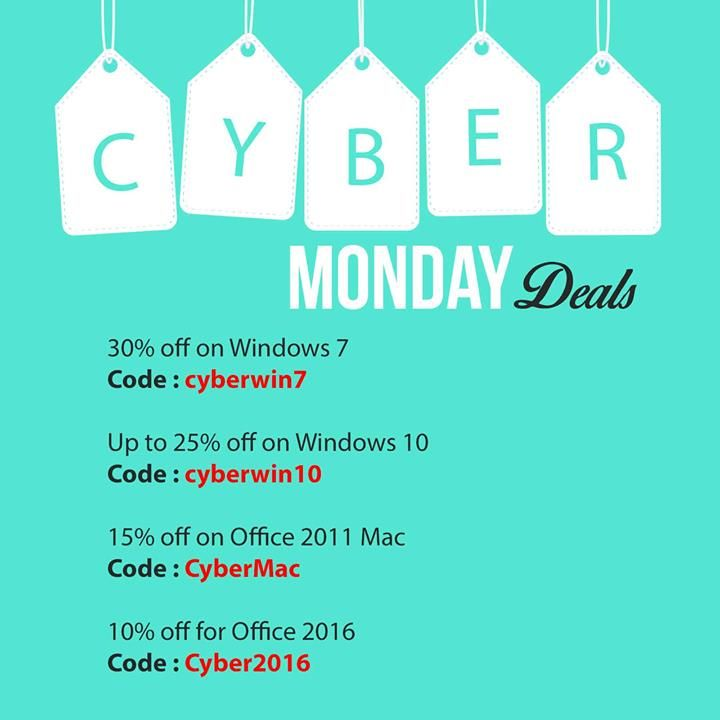 Codes available for Cyber Monday for those in the US & Canada!   Read this > http://ow.ly/VeV0R  #cybermondaycodes