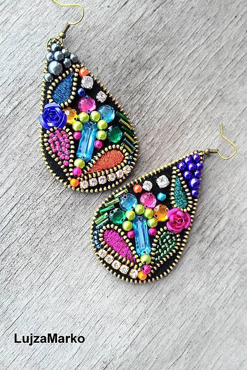 LujzaMarko / Gypsy drop náušnice