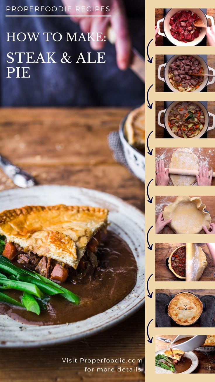 How to make Steak & Ale Pie: An immersive guide by ...