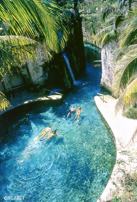 Xhai water park just outside Playa del Carmen riviera maya! Can't wait to take Jacob in June!