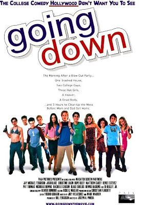 "FULL MOVIE! ""Going Down"" (2003)  ""Going Down"" (2003) Rating: R Duration: 1:20:16 A blowout party, one trashed house, two teenage misfits, three hot girls, four dumb jocks, a hooker, a dead body and ... three hours to clean up the mess. A raunchy slice of American Pie topped with a dollop of Risky Business served by ""hottie"" Christine Lakin."