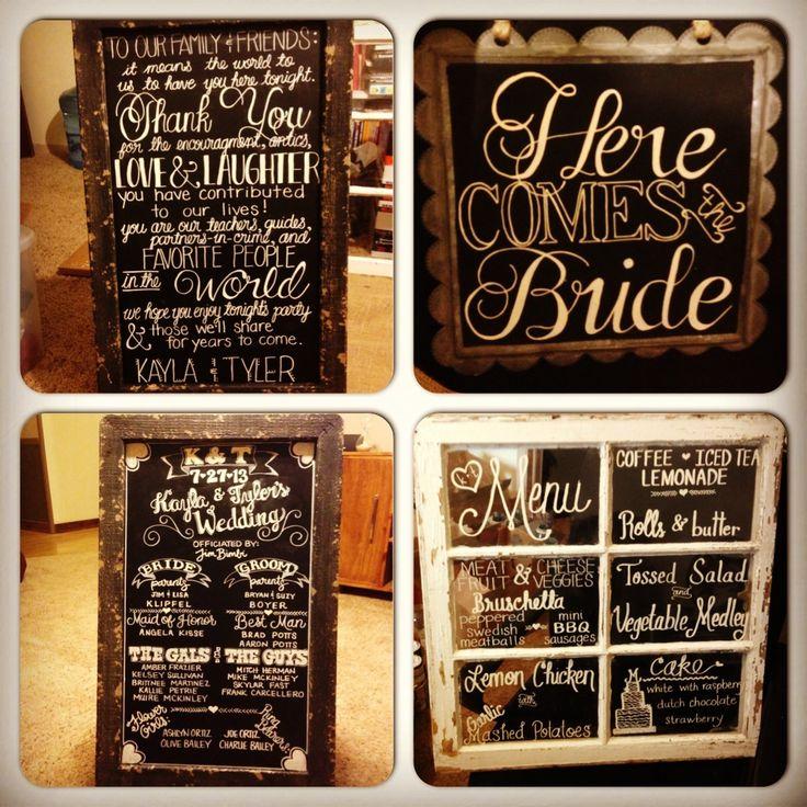 Wedding Chalkboard Ideas: 298 Best Chalkboard Art Images On Pinterest