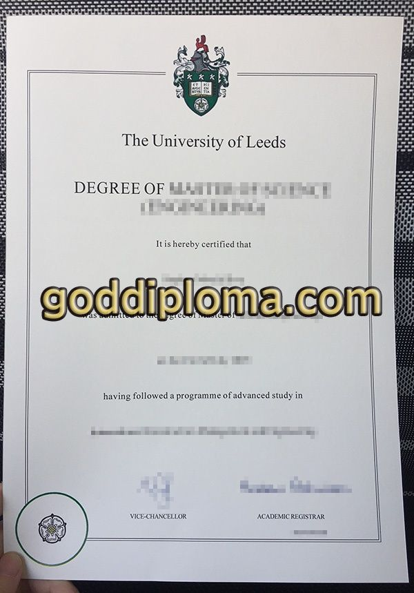 Where To Buy The University Of Leeds Fake Diploma Buy The