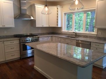 1000 Ideas About White Granite Kitchen On Pinterest