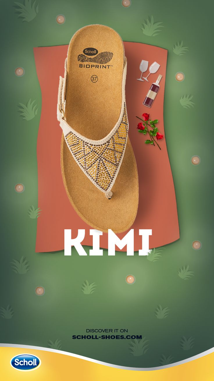 A bottle of wine, a bunch of roses, a blanket: someone has organized a romantic night out. You need the perfect shoe for such a moment, Kimi!