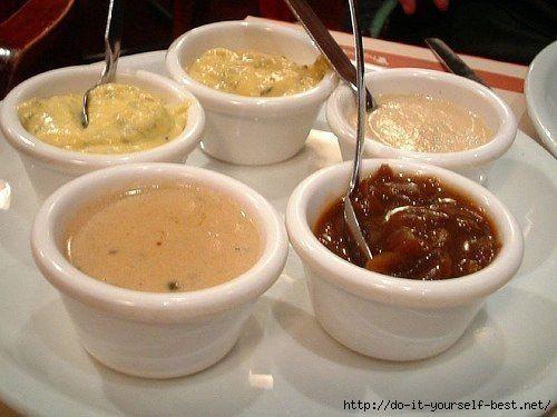 5 соусов к мясным блюдам