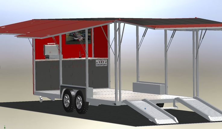 Trailers Lightweight Utility Multipurpose Enclosed Car