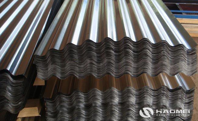Haomei Aluminum Corrugated Aluminium Sheet Used In Construction Roofing Sheets Aluminium Sheet Aluminum Roof