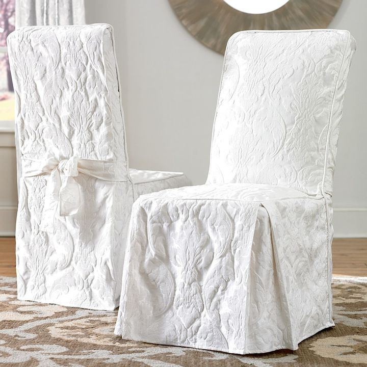 Best 25 Dining Room Chair Slipcovers Ideas On Pinterest