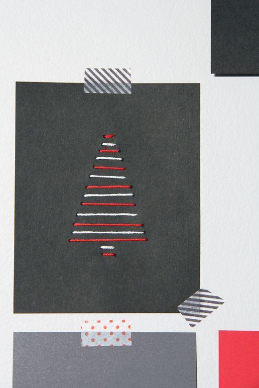 diy card postal navidad xmas christmas