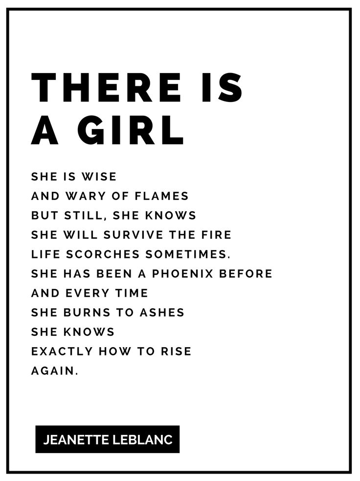 There is a girl. Love this print and imagine reading it daily.