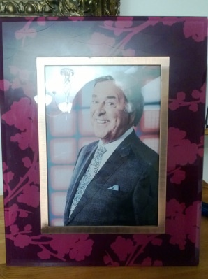 Eurovision Party Ideas: Make sure Terry Wogan is on your mantle-piece.
