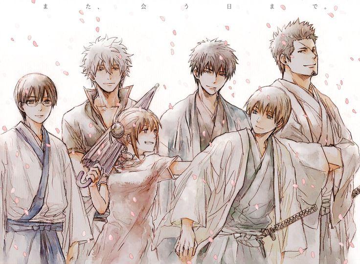 Shinsengumi Yorozuya Okikagu Gintoki Shinpachi Kagura Okita Hijikata Kondou