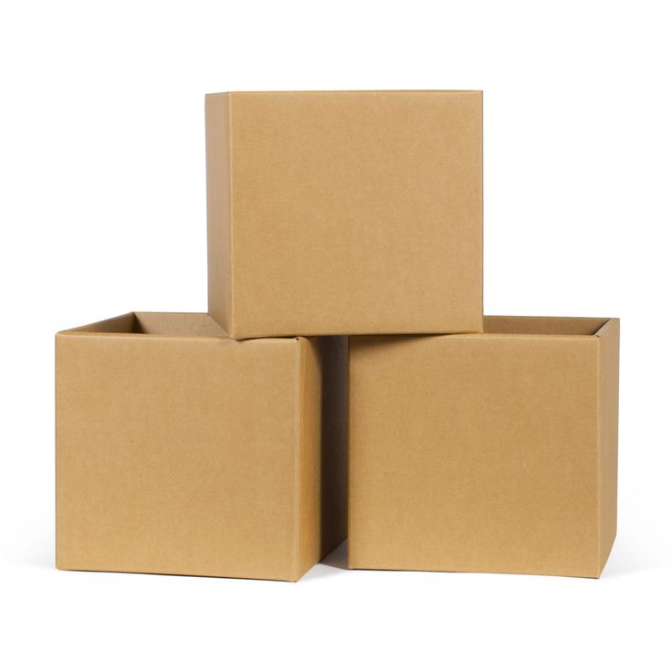 Cardboard Kids Storage Bins 6-Pack