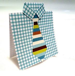 Como hacer una tarjeta para el dia del padre