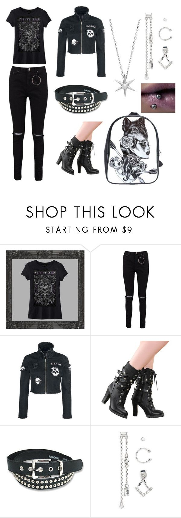 """""""Untitled #111"""" by ziadvil on Polyvore featuring INC International Concepts, Boohoo, Topshop and Estella Bartlett"""