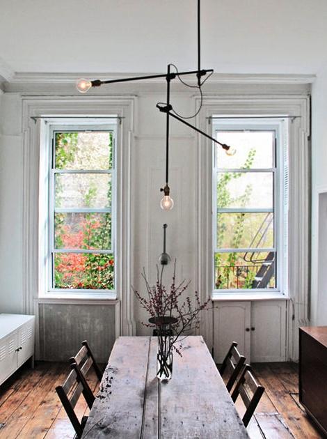 Industrial chandelier from Workstead