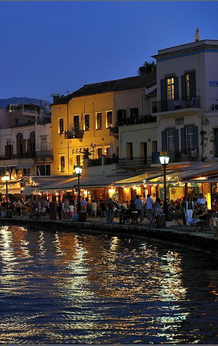 Old harbour ~ Chania, Crete Island, Greece | Flickr - Photo by Vasilis.