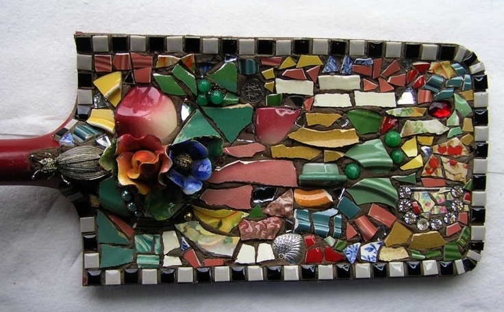 Mosaic decorating done in spades.