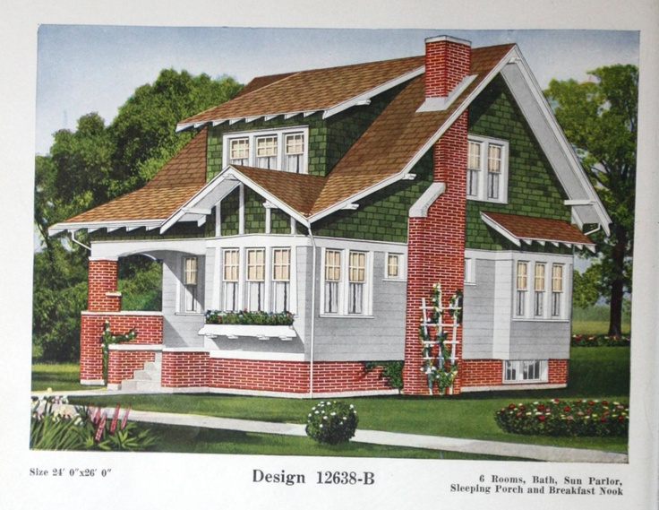 1000 images about house exteriors early 1900s on for 1900 bungalow house plans