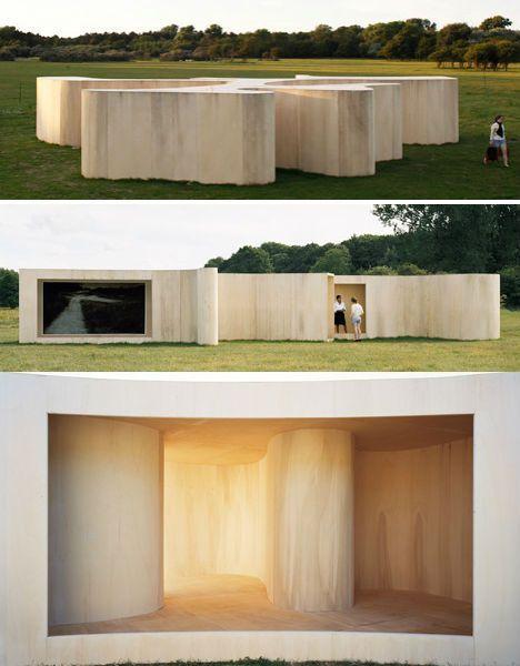 Ephemere Unterhaltung: 13 temporäre Pavillons von…