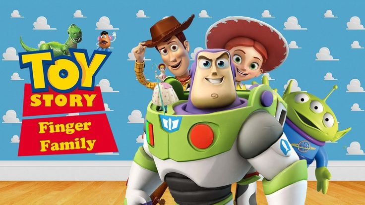 TOY STORY Finger Family Daddy Finger Song Nursery Rhyme with Lyrics For ...