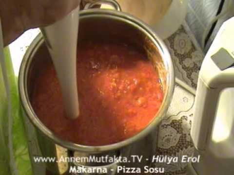Pizza Sosu - Annem Mutfakta