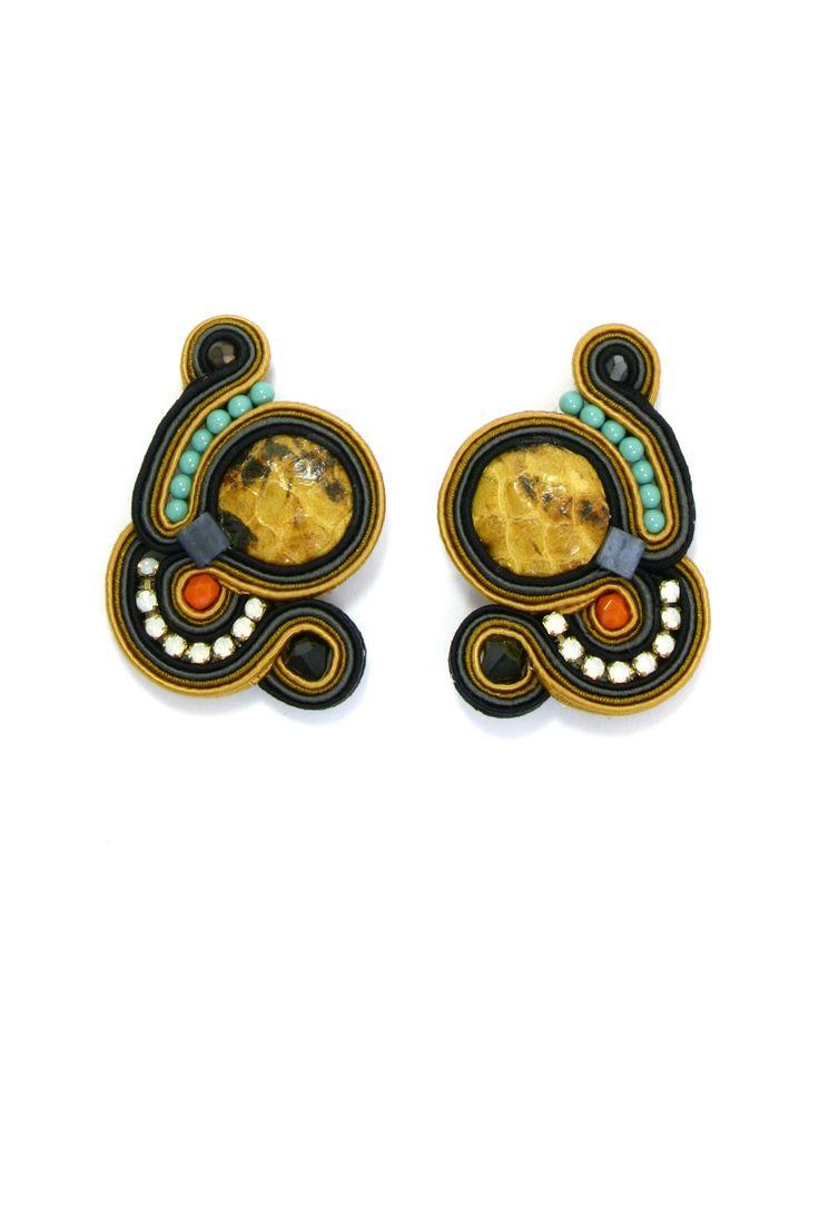 Dori Csengeri earrings   AIBIJOUX   fashion jewellery